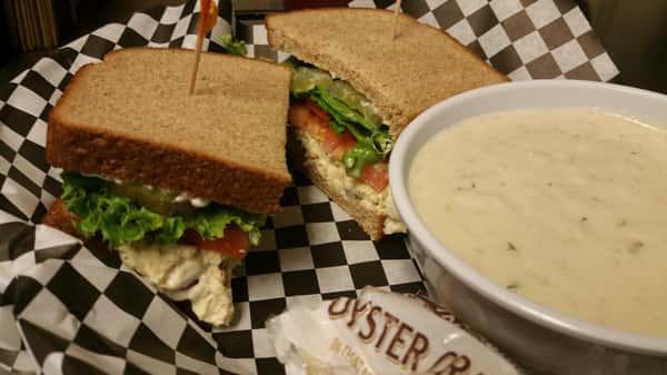 Friday - Tuna sandwich or California BLT and Clam Chowder