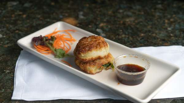 veggie dumpling
