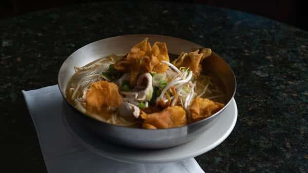 chicken and shrimp wonton soup