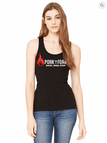 POAF - Foiled Flame Tank (Ladies)