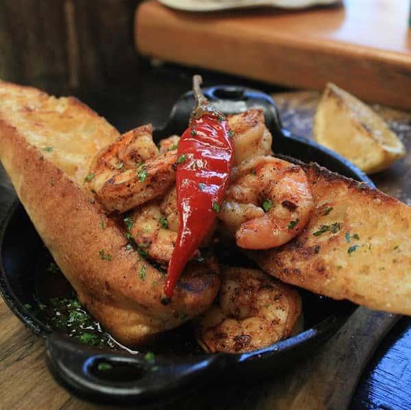 Shrimp Gambas (Spanish style shrimp)
