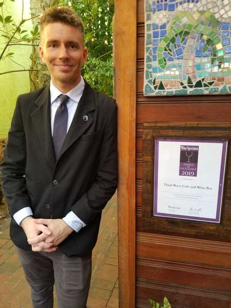 Nathan Gray, Wine Sommelier, Third Wave cafe & wine bar