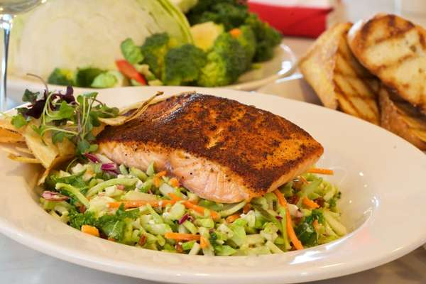 Blackened Salmon Power Salad