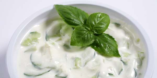Cucumber, Yogurt Salad