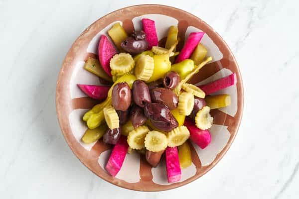Mediterranean Pickles