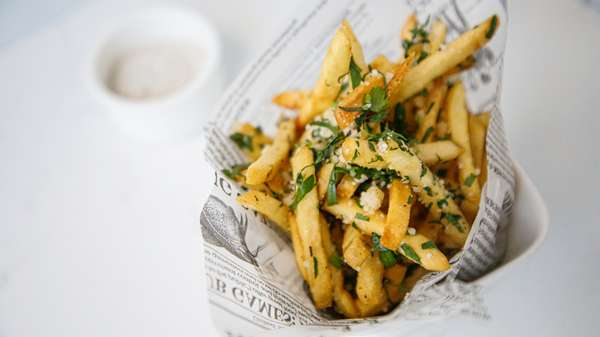 Truffle and Parmesan Fries