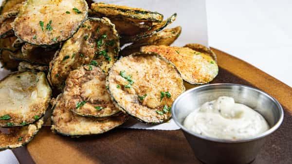Squash Zucchini Chips °