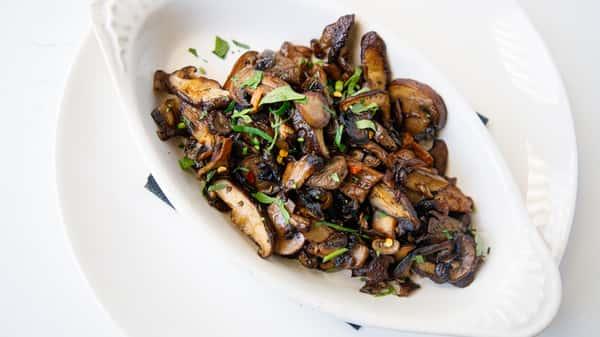 Roasted Wild Mushrooms