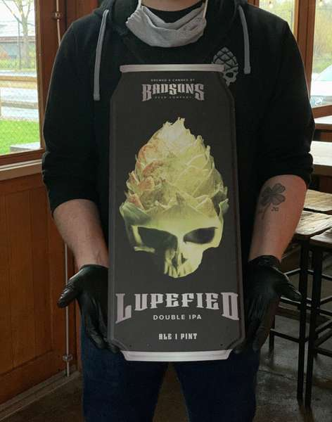 Tin Tackers - Lupefied Can