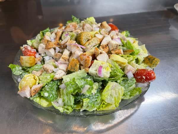 Chicken Tortellini Caesar Salad