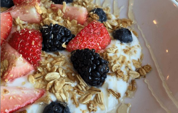 Fruit and Local Yogurt Parfait