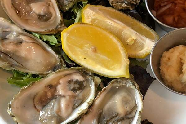 Local Oysters*