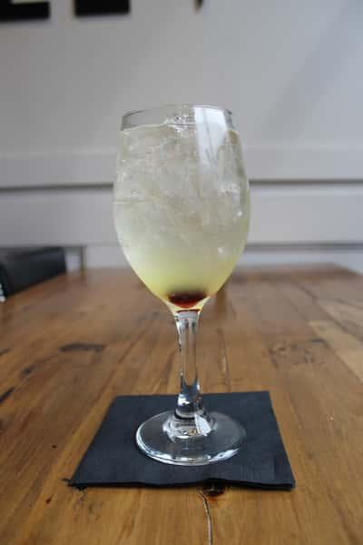 Limoncello Spritz Champagne Cocktail