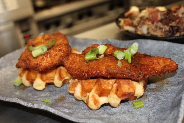 Mini Fried Chicken & Waffles