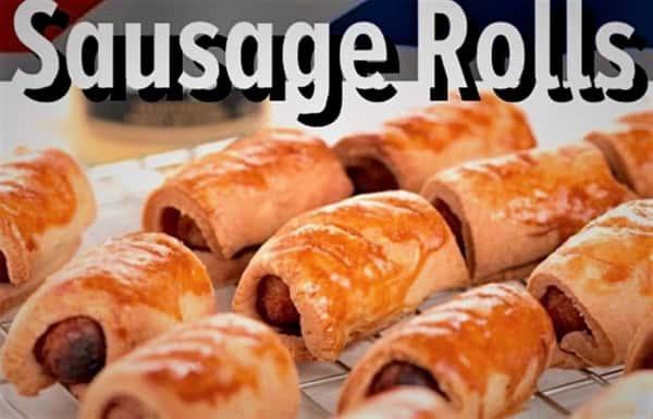 Sausage Rolls (8 Piece)