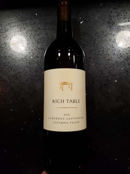 Rich Table Cabernet Sauvignon