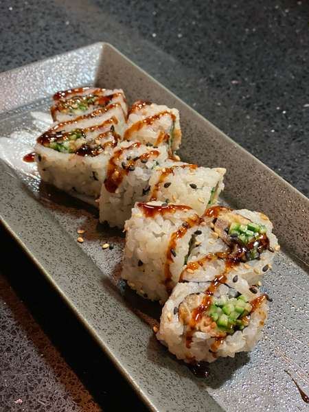 Eel with Cucumber Roll