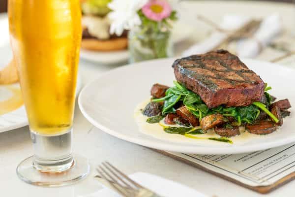 8oz Prime Flat Iron Steak