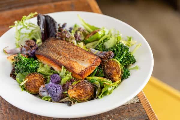 Skuna Bay Salmon Salad