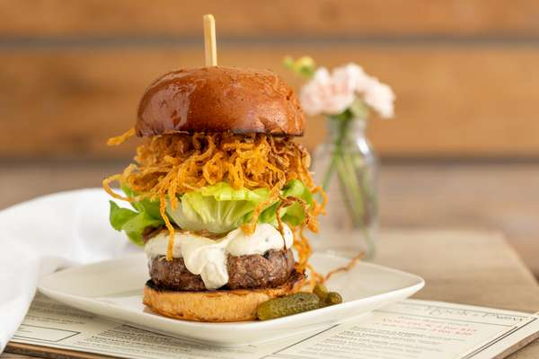 The Hook and Plow Burger
