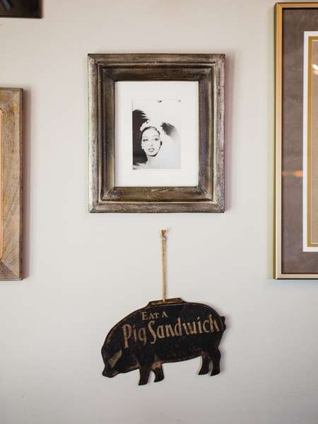 wall decor and framed picture