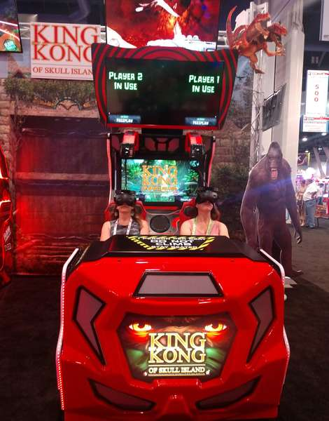 King Kong Virtual Reality in the Café and Games Re-Opening