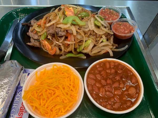 Fajitas - Chicken and Beef