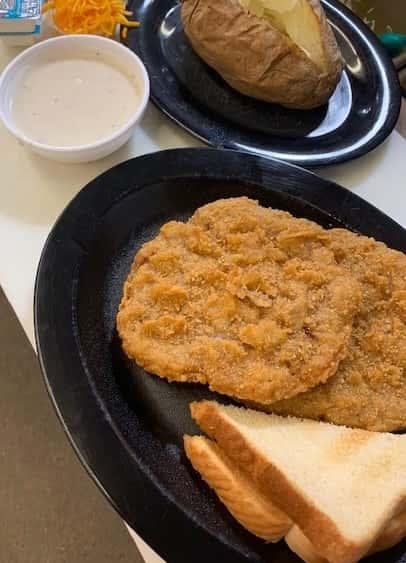 Country Fried Steak Dinner