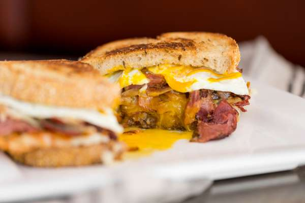 The Pastrami And Egg Sandwich