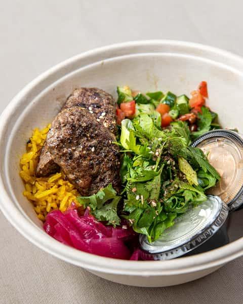 Beef Kefta Kebab Bowl