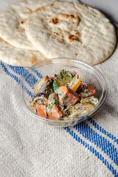 Tahini Roasted Vegetables