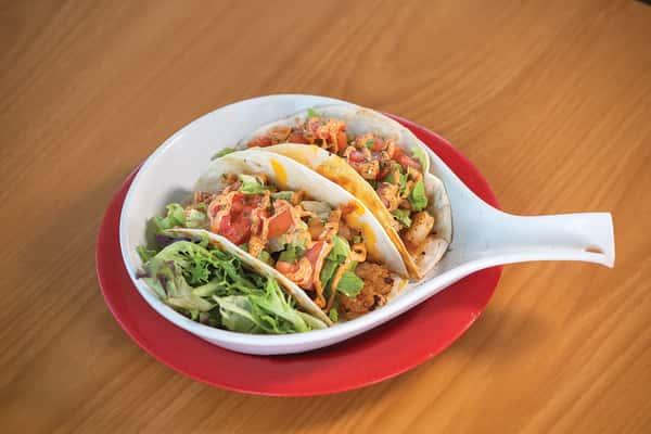 Trevor's Chipotle Shrimp Tacos