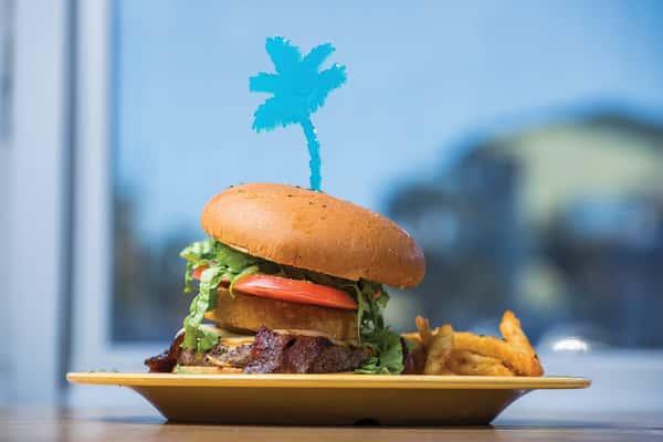 The Ultimate Island Burger!
