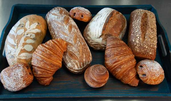 Artisan bread and pastries
