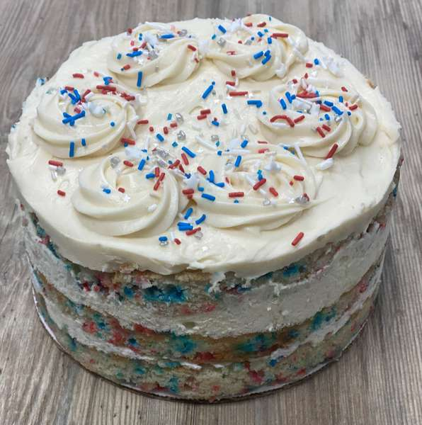 Birthday Sprinkles Cake