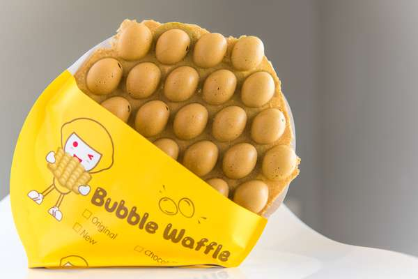 I3 Matcha Bubble Waffle
