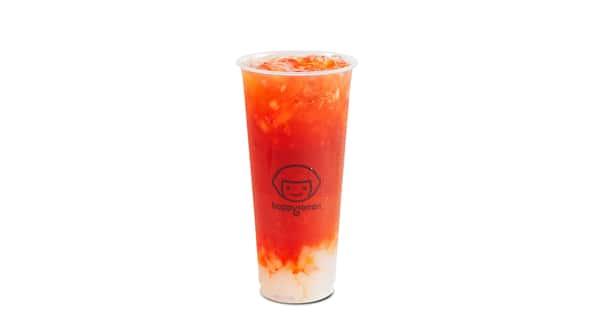 F4 Strawberry Black Tea w/ Lychee Jelly