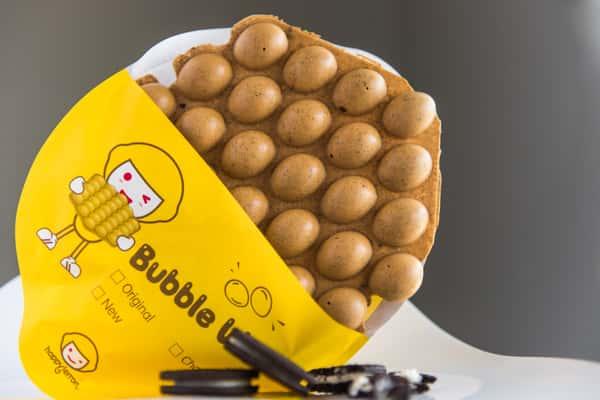 I2 Oreo Bubble Waffle