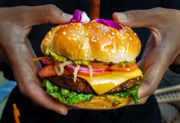 Maharani Veg Burger