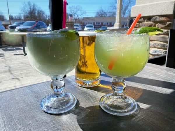 Margaritas and beer