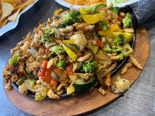 Lunch Fajitas Yucatan
