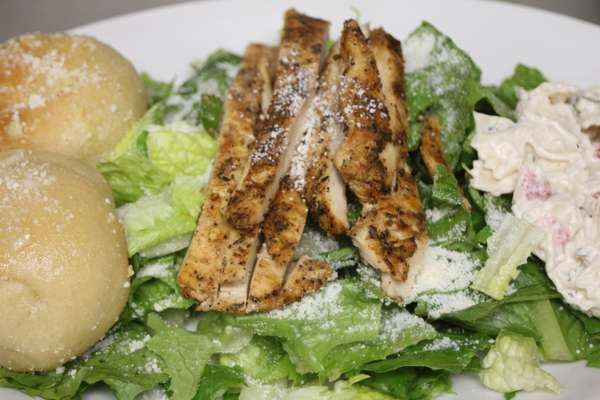 GRILLED OR CAJUN CHICKEN CAESAR