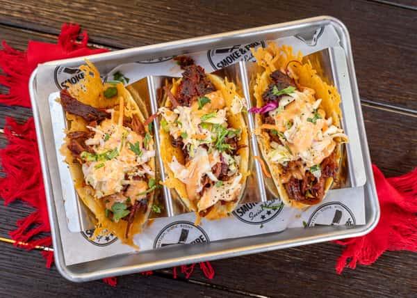 3 Brisket Tacos