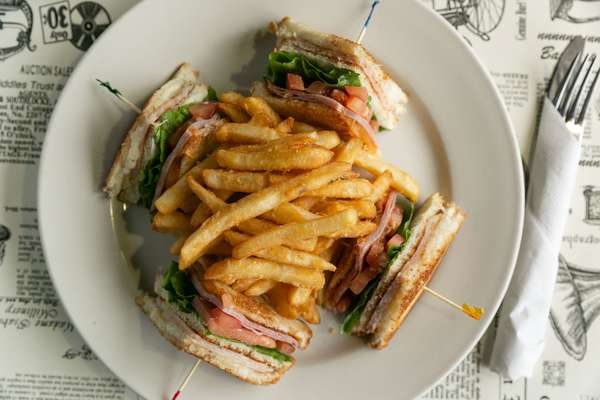 Sandwiches and Fries