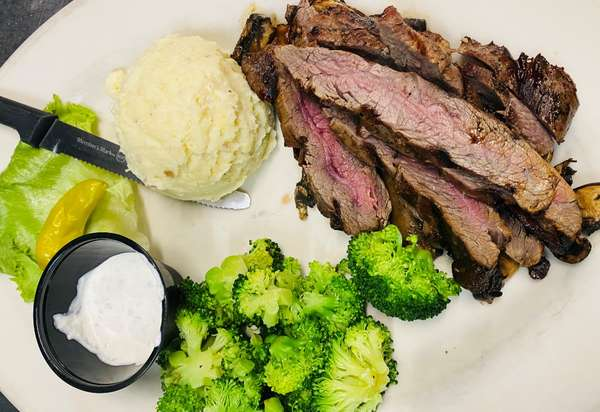 Marinated London Broil*