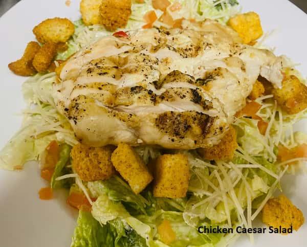Custom Built Caesar Salad