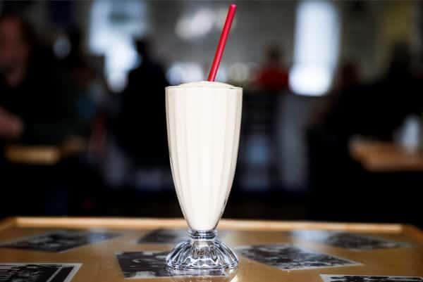 orange cream shake