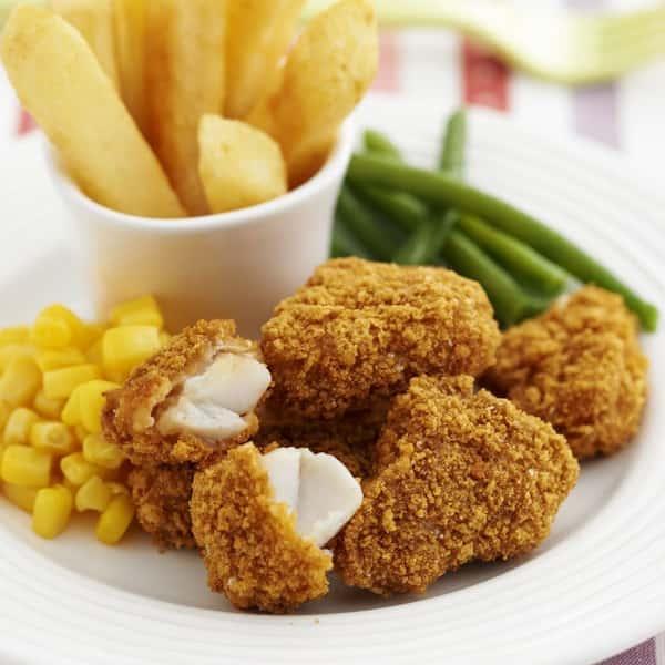 Chicken Karaage / Chicken Nuggets with Fries