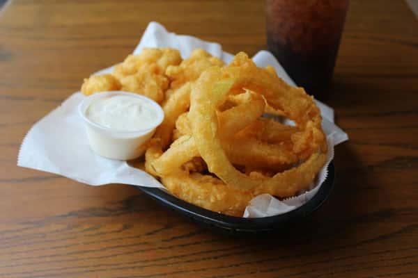 Combo Basket - Onion Rings & Cauliflower