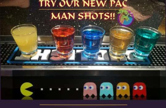 pacman shots